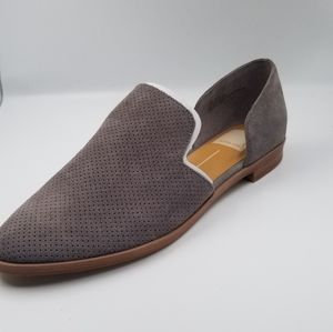 New nobox dolce vita flats loafers taupe brown 7.5
